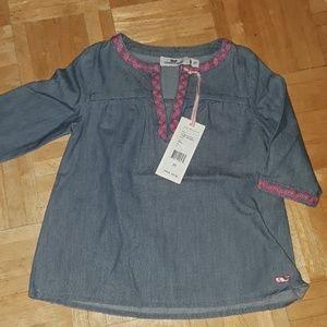 NEW Vineyard Vines chambray tunic